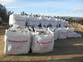 All gravel delivered by the bag throughout Ireland