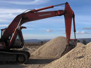 All sizes of chippings available for delivery in Ireland